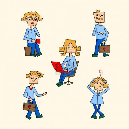 Illustration pour Des icônes. Illustration vectorielle . - image libre de droit