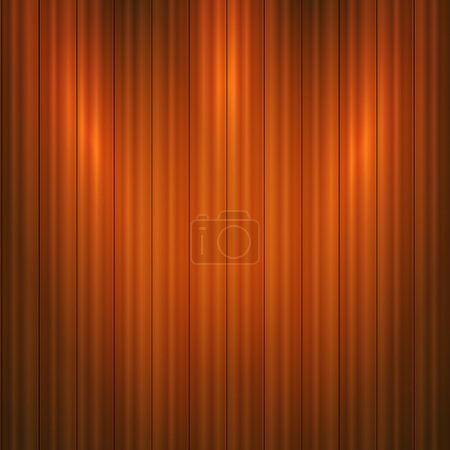 Vector wooden background.  Vector illustration.