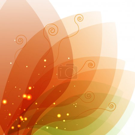 Photo for Vector floral background design - Royalty Free Image