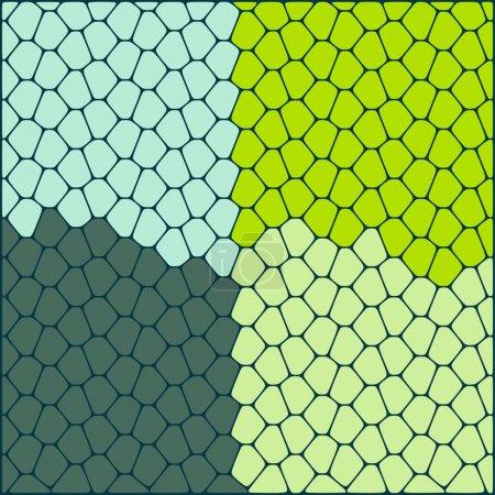 Illustration pour Fond vectoriel abstrait. Illustration vectorielle . - image libre de droit