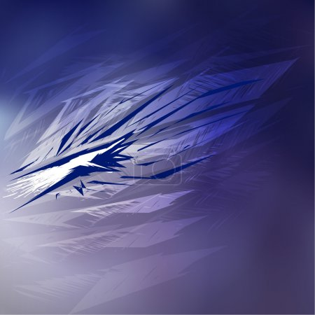 Vector abstracto fondo azul .