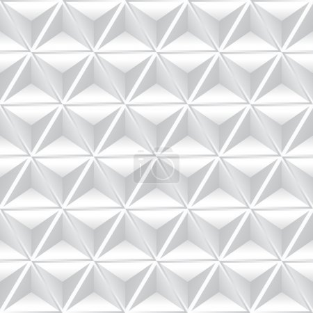 Abstract geometric background with white cubes.