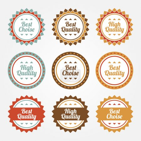 Collection of Premium and High Quality labels