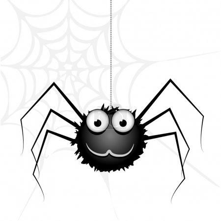 Illustration pour Araignée vectorielle mignonne. Illustration vectorielle . - image libre de droit