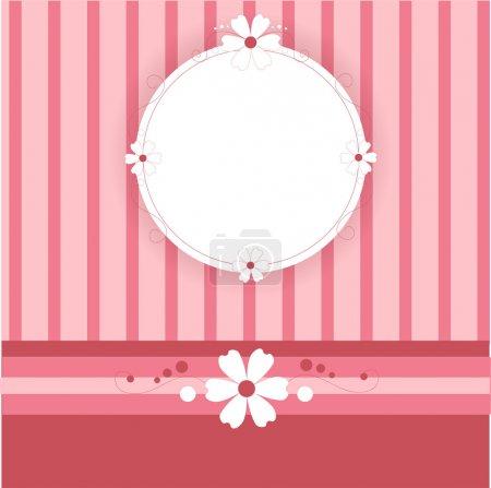 Vector pink background. Vector illustration.
