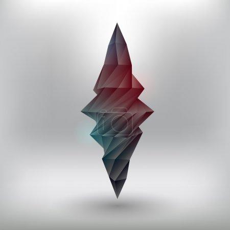 Vector geometric element. Vector illustration.