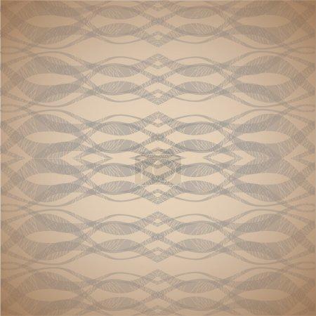 Illustration for Vector waves background. Vector illustration. - Royalty Free Image