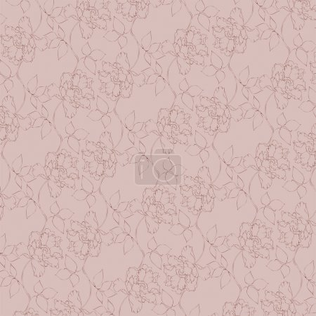 Illustration pour Fond vintage vectoriel. Illustration vectorielle . - image libre de droit