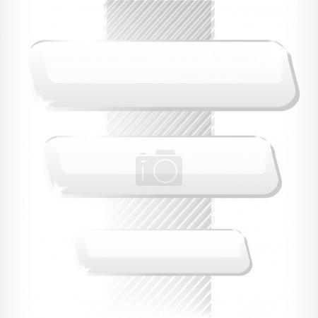 Vector white background. Vector illustration.