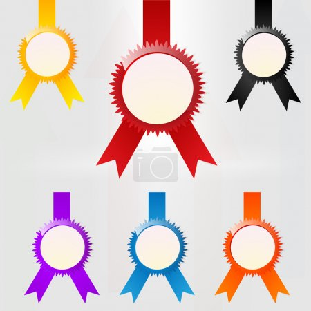 Vector set of emblems.