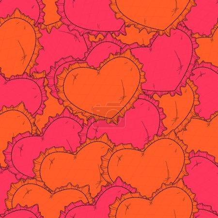 Valentinstag-Hintergrund mit Herz.