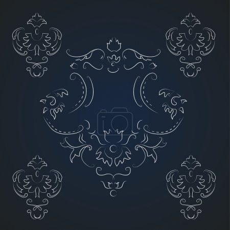 Photo for Vector vintage background. Vector illustration. - Royalty Free Image