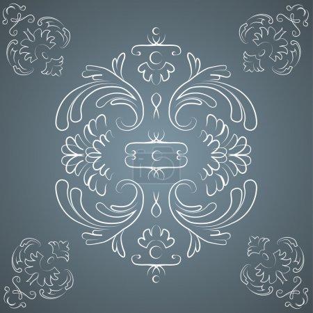 Illustration for Vector vintage background. Vector illustration. - Royalty Free Image