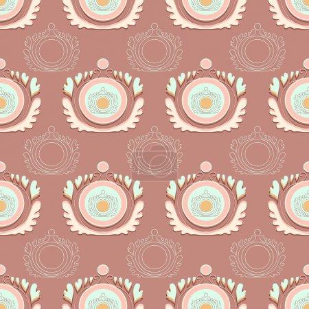 Vector vintage background. Vector illustration.