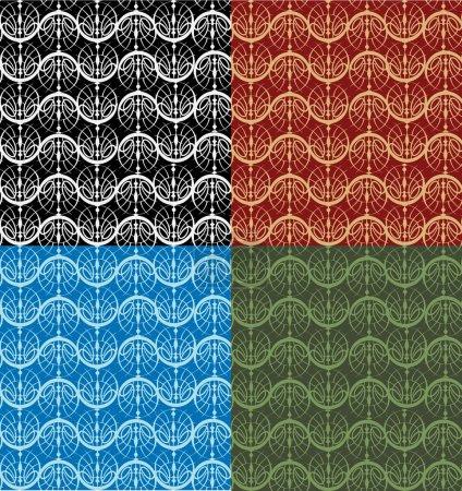 Modèle vectoriel sans couture. Illustration vectorielle .
