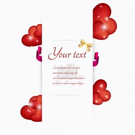 Valentinstag-Vektor. Vektorillustration.