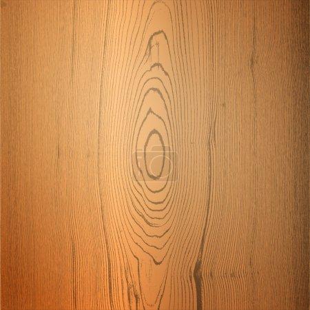 Illustration pour Fond vectoriel en bois. Illustration vectorielle . - image libre de droit