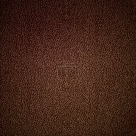 Seamless vector leather texture brown background pattern