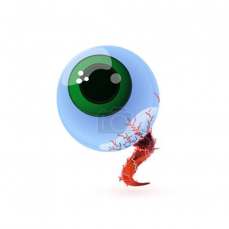 Illustration pour Mignon visage avec des bulles. Illustration vectorielle . - image libre de droit
