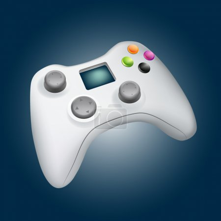 Vector Game Controller Illustration