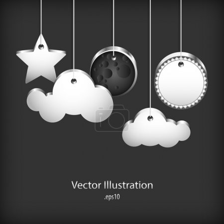 Illustration for Speech bubbles - vector illustration - Royalty Free Image
