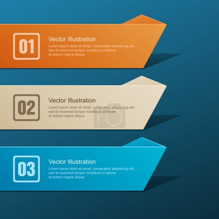 Vector set of banners.