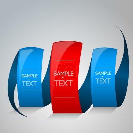 Illustration pour Dessin exemple de texte. Illustration vectorielle . - image libre de droit