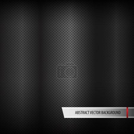 Illustration pour Fond métallique abstrait. Illustration vectorielle. - image libre de droit