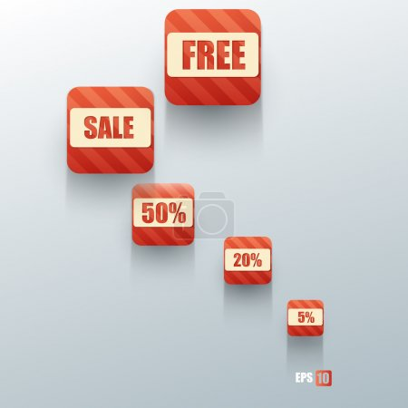 Shopping concept. Vector illustration.