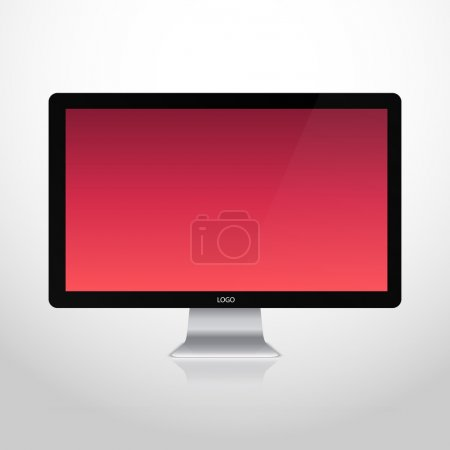 monitor of vector design