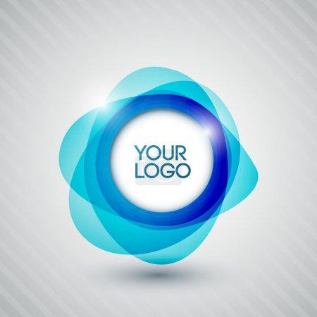 Photo pour Cercles brillants abstraits pour votre logo - image libre de droit