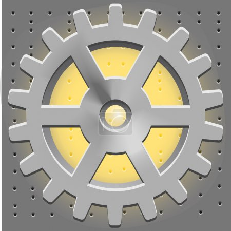 Photo for Vector Cogwheel. Gear System - Royalty Free Image