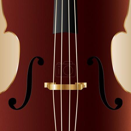 cello illustration, vector design