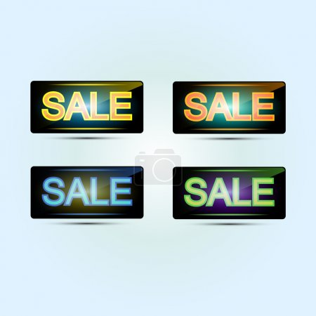 Sale banners. Vector illustration.