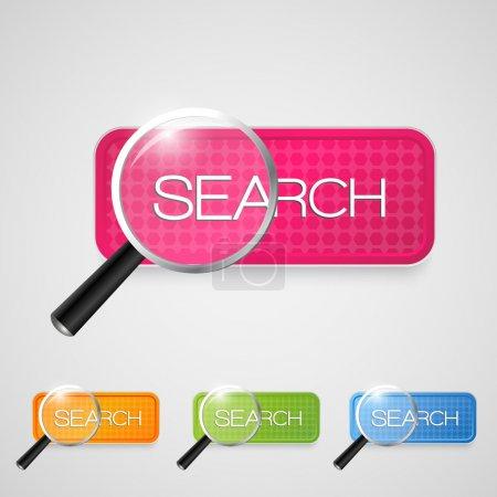 Vector search button set