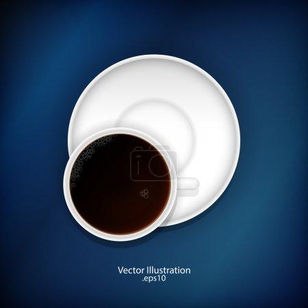 Illustration pour Une tasse de thé. Illustration vectorielle . - image libre de droit