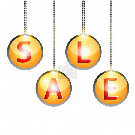 Illustration pour Étiquettes de vente, design vectoriel - image libre de droit