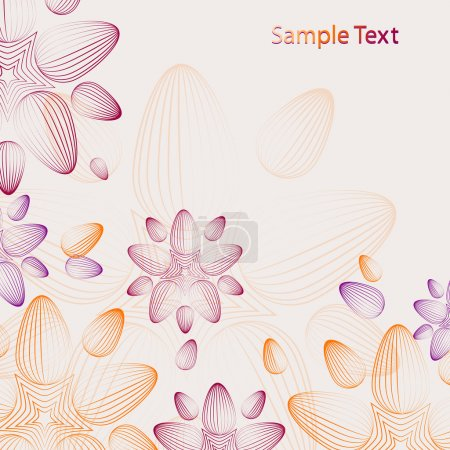 Illustration for Abstract background. vector design - Royalty Free Image