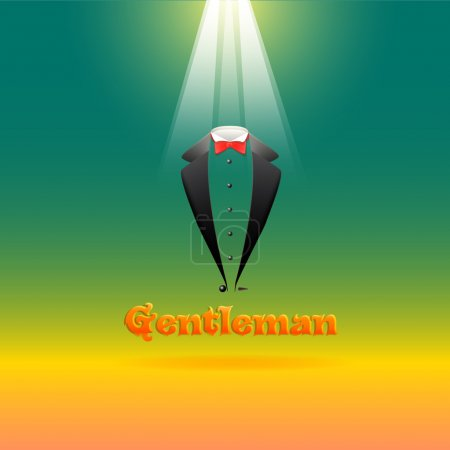 Illustration pour Illustration vectorielle icône costume - image libre de droit