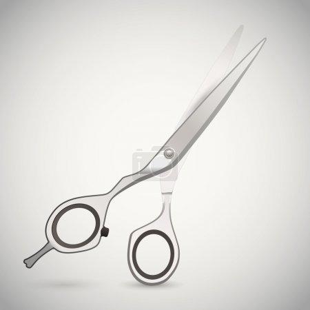 Illustration pour Illustration vectorielle des ciseaux de coupe . - image libre de droit