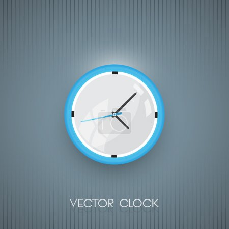Illustration for Vector wall clock icon - Royalty Free Image