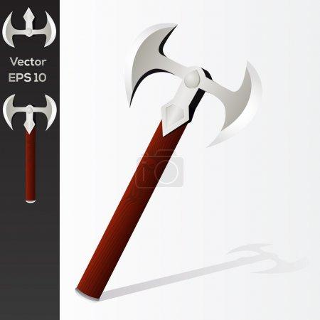 vector design of battle axe