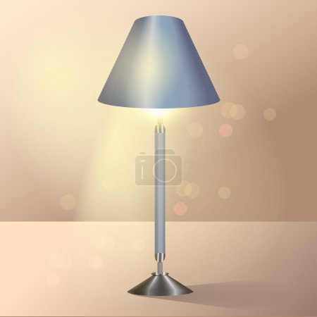 Floor lamp.  vector illustration
