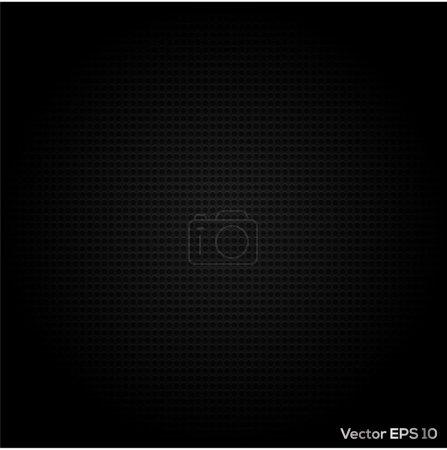 Illustration pour Vecteur abstrait en métal pointillé conception de fond - image libre de droit