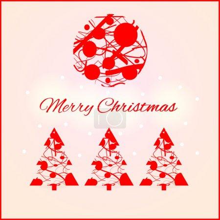 Illustration pour Éléments de conception de Noël. Illustration vectorielle - image libre de droit