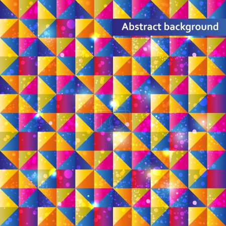 Illustration for Abstract Vector Background vector illustration - Royalty Free Image