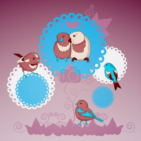 Vector Collection of Lovely Birds
