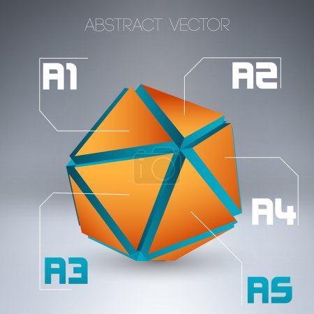 Abstract vector background. vector illustration