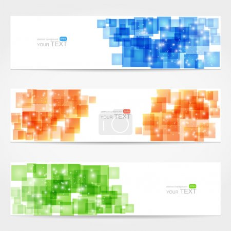 Abstract vector cards,  vector illustration