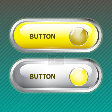Web buttons. vector illustration